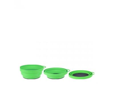 LifeVenture Silicone Ellipse Flexibowl - Grøn