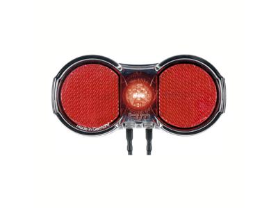 Busch+Müller Toplight Flat Plus - Baglygte til dynamo - 50mm bolt afstand