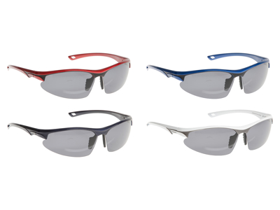 Evolo solbrille Carbon stel hvid- Polarized linse