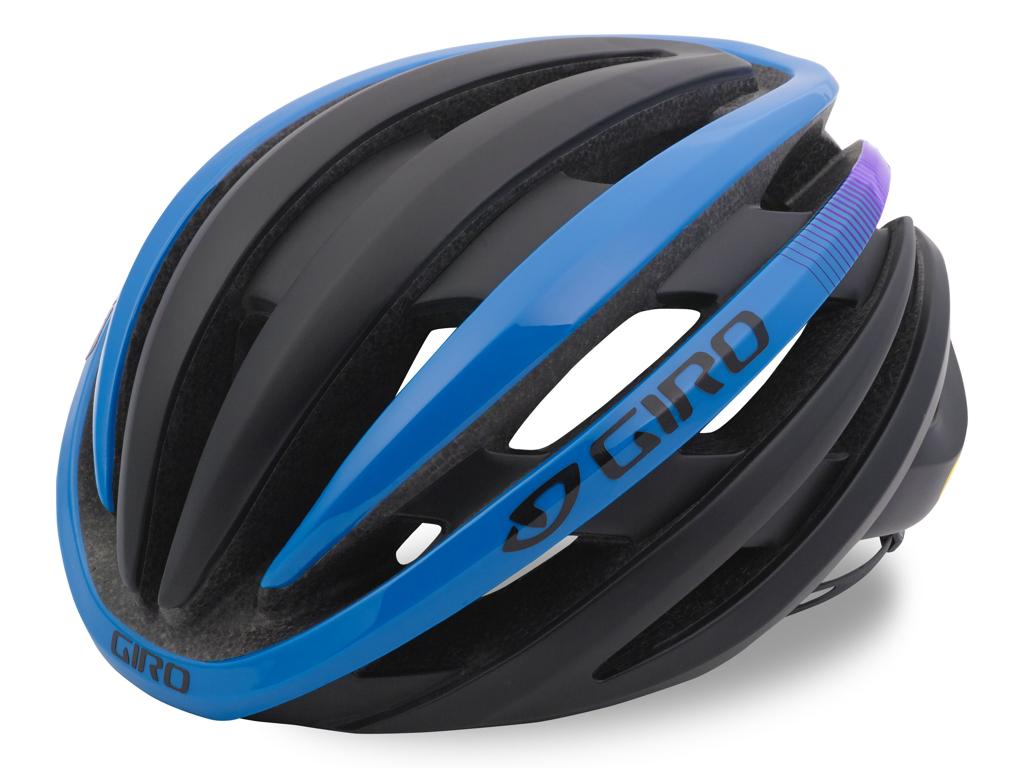 Giro Cinder Mips - Cykelhjelm - Str. 59-63 cm - Mat Sort/Blå/Lilla thumbnail