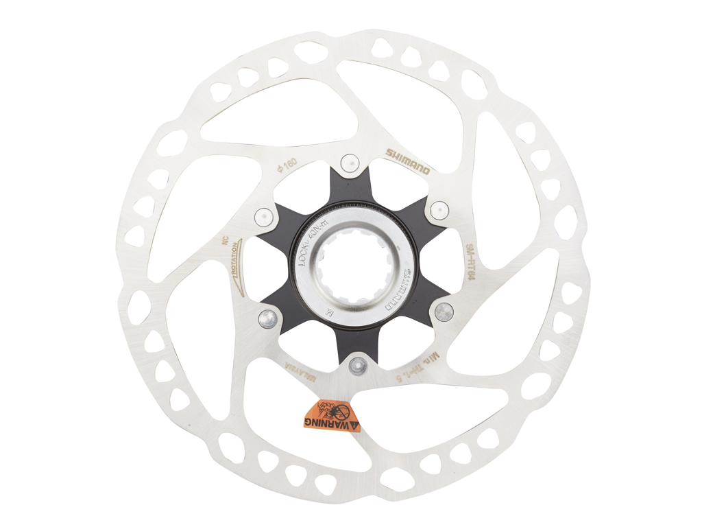 Image of   Shimano SLX - Rotor for skivebremser 160mm til center lock