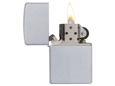 Zippo Satin Chrome - Lighter - Krom