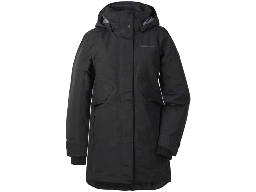 Image of   Didriksons Tanja Womens Parka - Damejakke - Sort - Str. 36