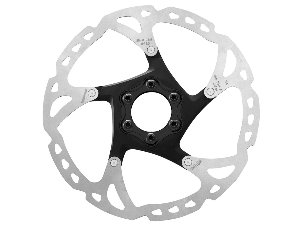 Image of   Shimano XT - Rotor for skivebremser 180mm 6 bolt