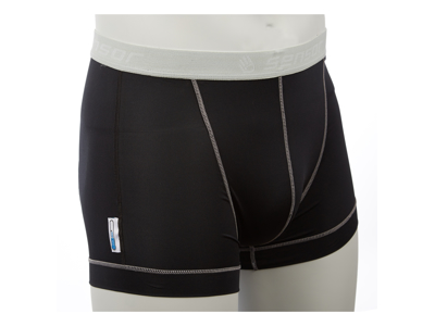 Sensor Coolmax Fresh - Boxer shorts til herrer - Sort