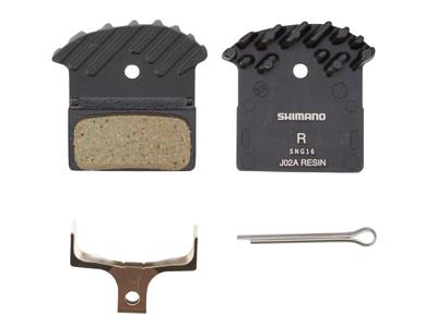 Shimano bremseklods - Model J02A Resin til XTR/XT/SLX BR-M9020, BR-M9000, BR-M8000