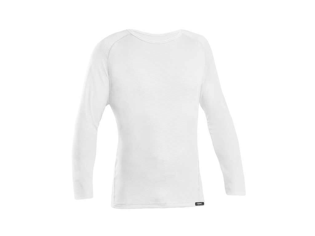 Image of   GripGrab Ride Thermal Base Layer - Svedundertrøje L/Æ - Hvid - Str. XXL