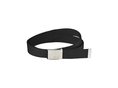 Jack Wolfskin Webbing Belt Wide - Bælte - Sort