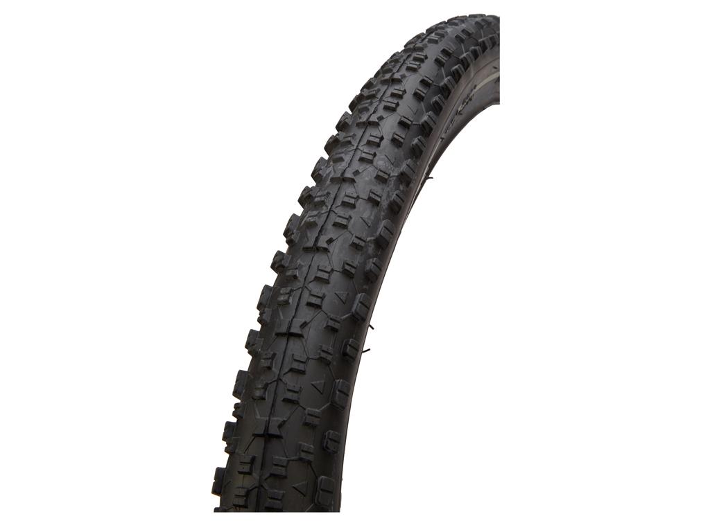 GRL dæk - 8014 med 1 mm indlæg - Str. 27,5x2,25 (57-584) - Sort/refleks