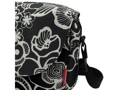 KLICKfix - Fun Bag - Sort med blomster 4 liter