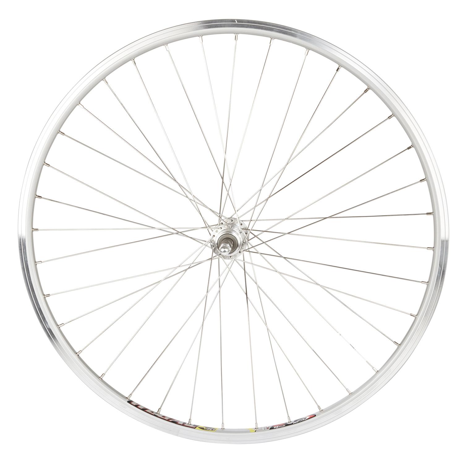 Rodi 700c baghjul - Wegal Due fælg - 13-622 - Gevind - DB 13 mm - Sølv | Rear wheel