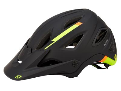 Cykelhjelm Giro Montaro MIPS - Mat sort/lime
