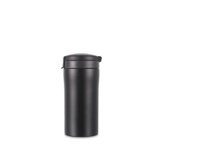 LifeVenture Flip-Top Thermal Mug - Termomugg - 0,3 l - Svart