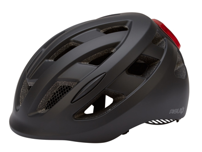 AGU HELMET CIVICK LED BLACK L/XL