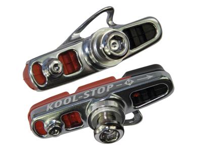 Kool Stop Dura 2 Advance Dual Compound - Bromssko komplett Road - Shimano - Aluminiumfälg