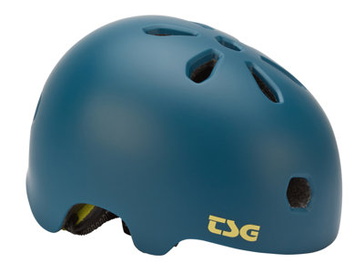 TSG Bike and Skater Helmet - Meta solid color - Satin jungle