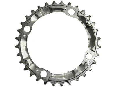 Klinge 32 tands Shimano Deore FC-M510 ø104mm 4 huls Sølv