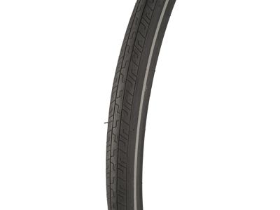 Atredo dæk - 2.5 mm punkteringsbeskyttelse - Str.700x32C(32-622) - Sort/refleks