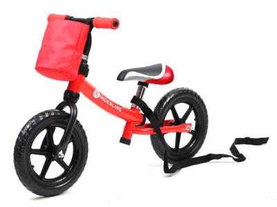 Kinderline - Løbecykel - Med EVA foam dæk - Rød