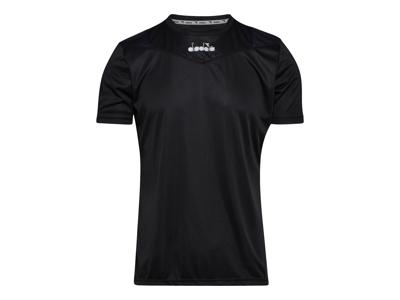 Diadora X-run SS T-shirt - Running t-shirt - Män - Svart