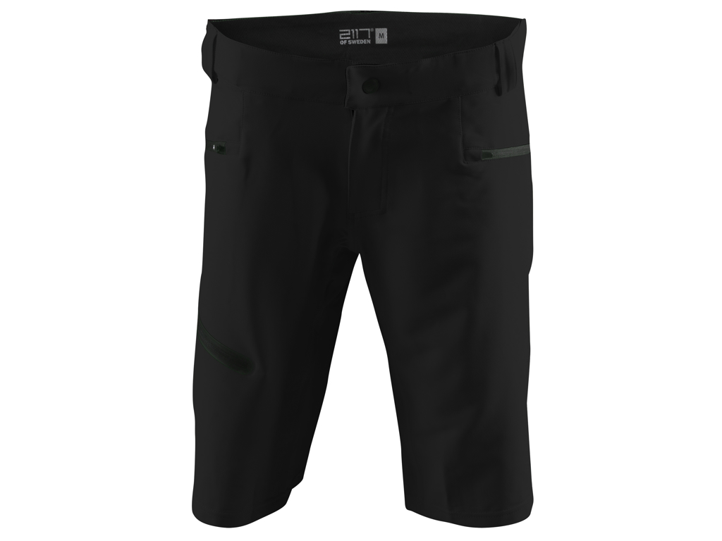 Image of   2117 OF SWEDEN Järvsö - Baggy cykelshorts - Sort - Str. XL
