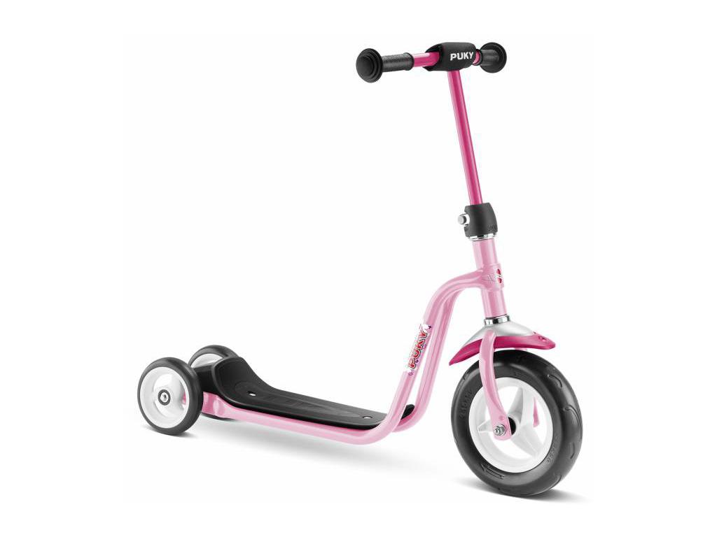 Image of   Puky - R 1 - Trehjulet løbehjul til børn - Lovely Pink