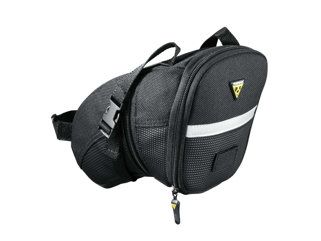 Image of   Topeak Aero Wedge Pack - Sadeltaske med stropper - Str. Large - 1,48 - 1,97 liter