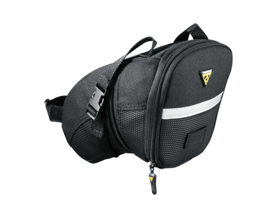 Topeak Aero Wedge Pack - Sadeltaske med stropper - Str. Large - 1,48 - 1,97 liter