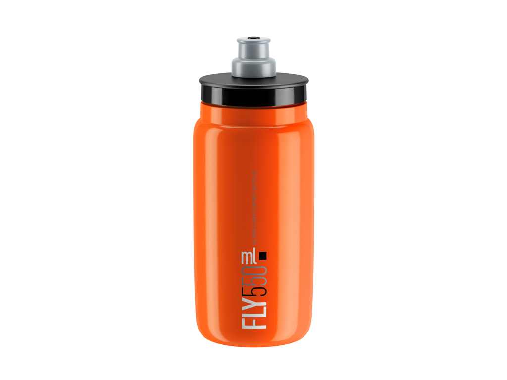 Image of   Elite Fly - Drikkedunk 550ml - 100% Biologisk nedbrydelig - Orange med sort logo
