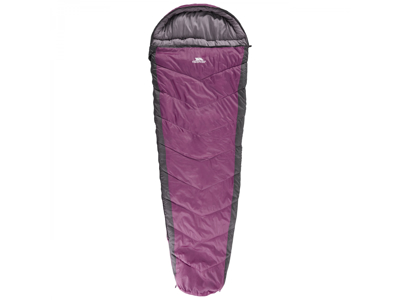 Trespass Doze - Sovepose - 3 sæsoner - 230 x 85 x 55 cm - Lilla/sort