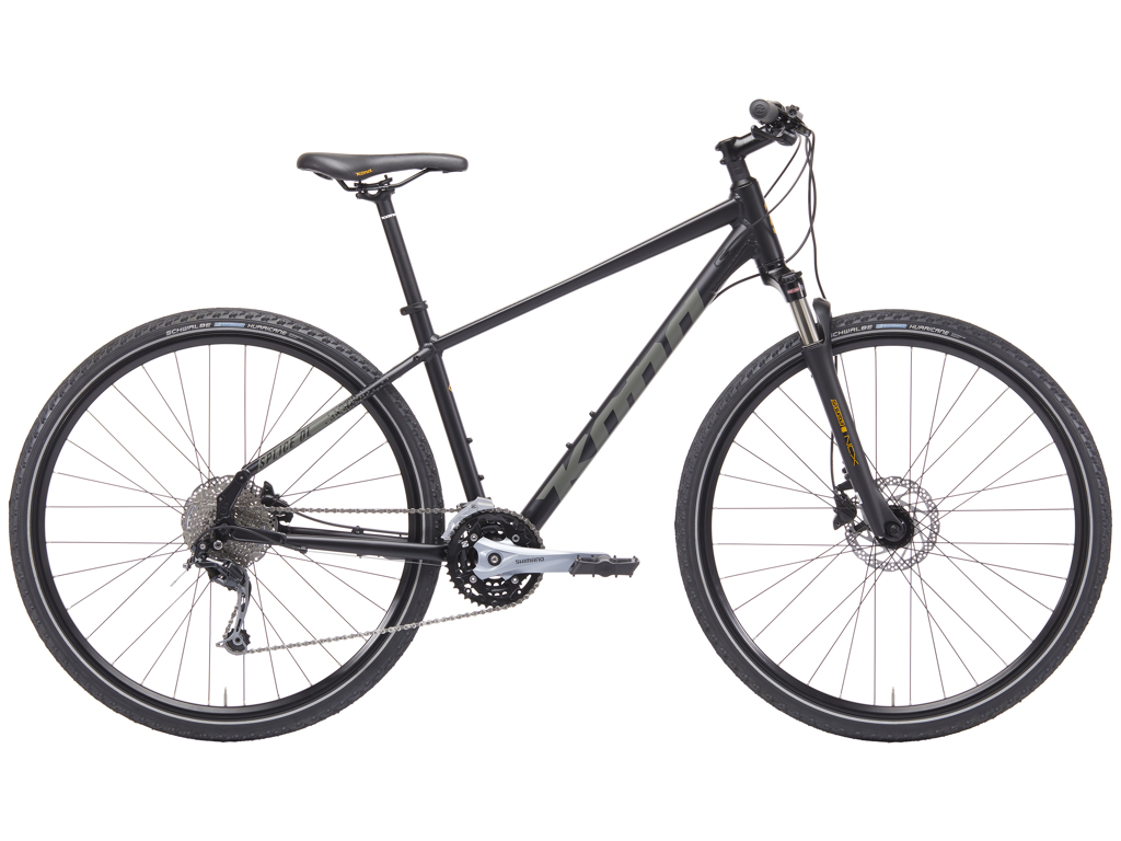 Kona - Splice Deluxe - 27 gear - Citybike - Medium - Sort thumbnail