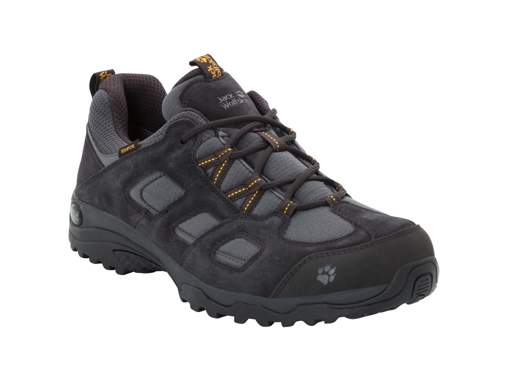 Image of   Jack Wolfskin Vojo Hike 2 Texapore Low M - Vandrestøvle - Hr. Str. 44,5 - Phantom