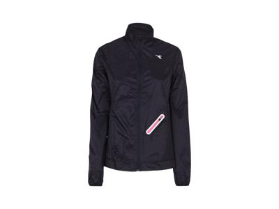 Diadora - L. Wind Jacket - Vindtæt løbejakke - Dame - Sort