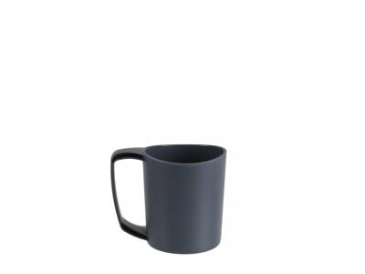 LifeVenture Ellipse Plastic Camping Mugs - Letvægts Krus - Gråsort