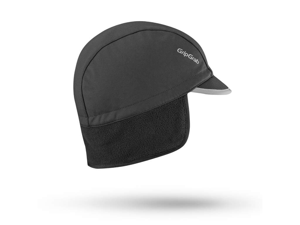 Image of   GripGrab Winter cap - Cykelhue med skygge - Sort - Str. L
