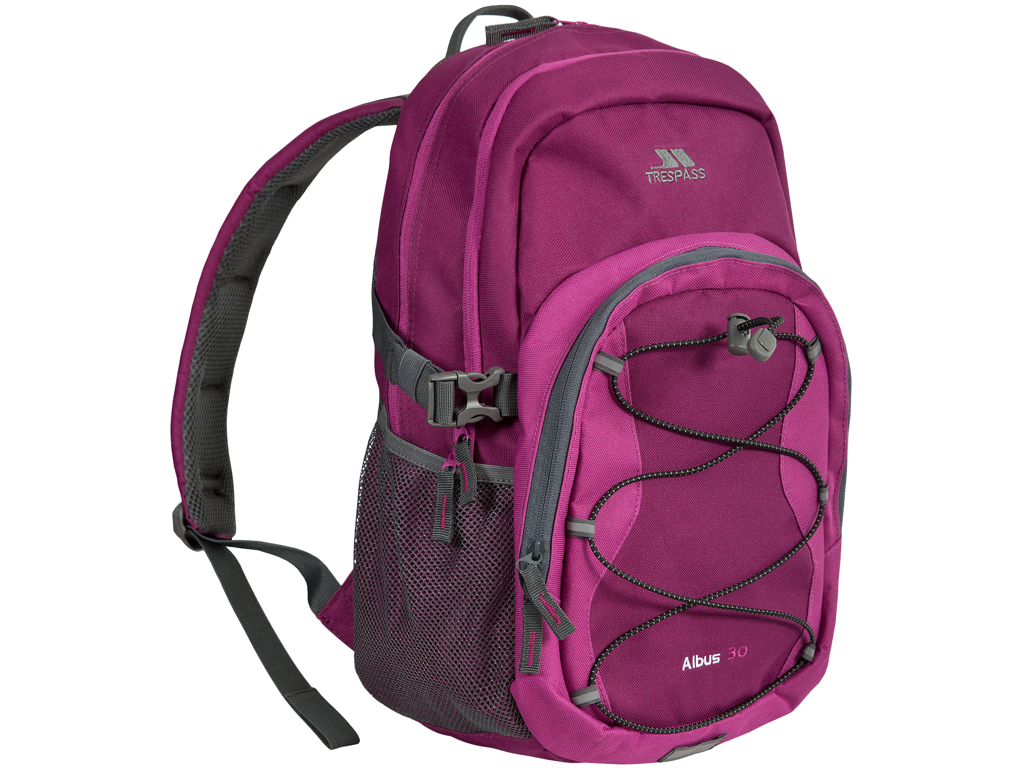 Image of   Trespass Albus - Rygsæk - 30 liter - Purple