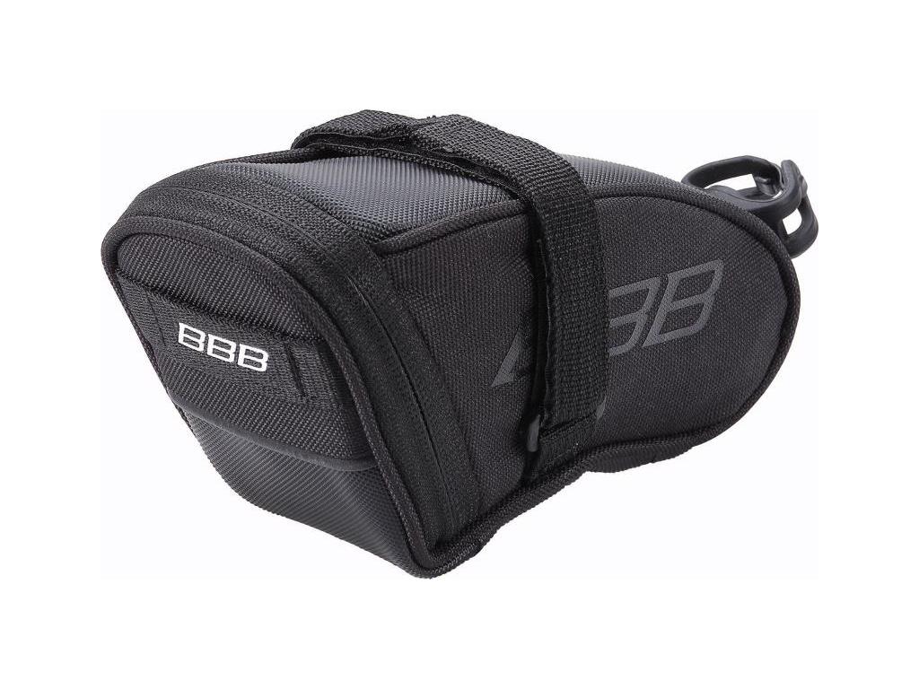 BBB - SpeedPack M - Sadeltaske med velcro - Vandtæt - Sort