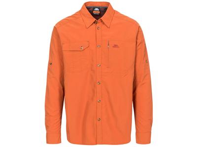 Trespass Darnet - Moskitophobia skjorte med lange ærmer - Orange
