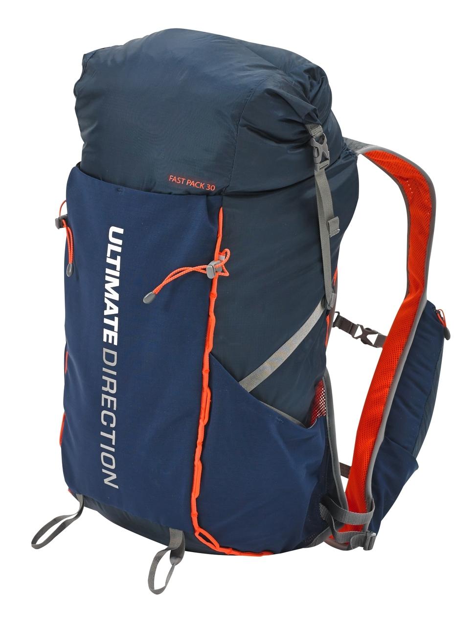 Ultimate Direction Fastpack 30 - Rygsæk - 20-31 liter - Navy/orange | Travel bags