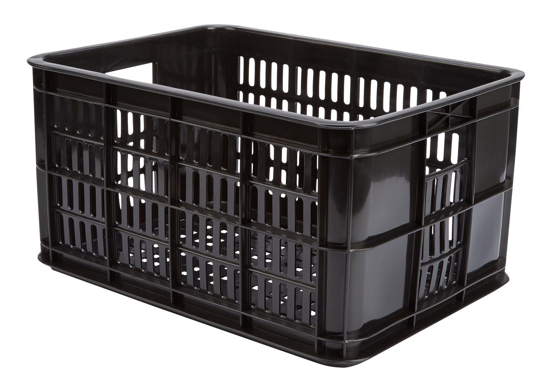 Kurv Basil Crate Small sort plast til Bagagebærer | Bike baskets