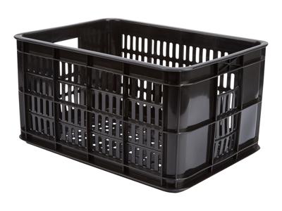 Kurv Basil Crate Small sort plast til Bagagebærer