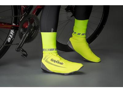 GripGrab - HI-VIS CyclingGaiter - Neon Gul