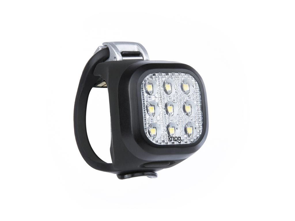 Knog - Cykellygte front Blinder Mini Niner - Sort - USB opladelig thumbnail