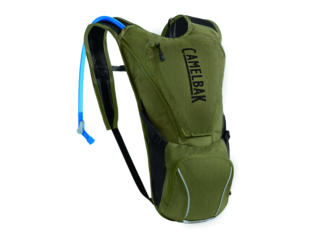 Camelbak Rogue - Rygsæk 5L med 2,5 L vandreservior - Burnt Olive/Black