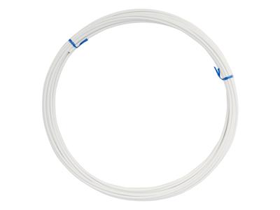 Shimano yderkabel - Til gearkabel/Wire - 10 meter - 4mm i diameter - Hvid