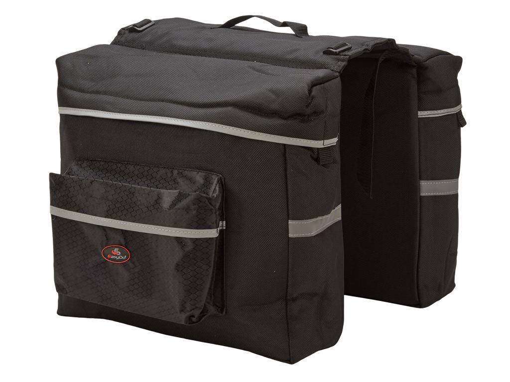 Image of   Easydo - ED-0086 - Taske til bagagebærer - Elcykel - 22 Liter - Sort