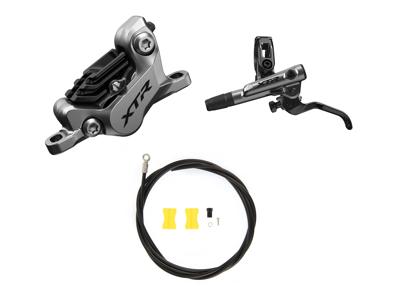 Shimano XTR Trail M9120-PSA - Hydraulisk bremsesæt - For/venstre - Resin klodser