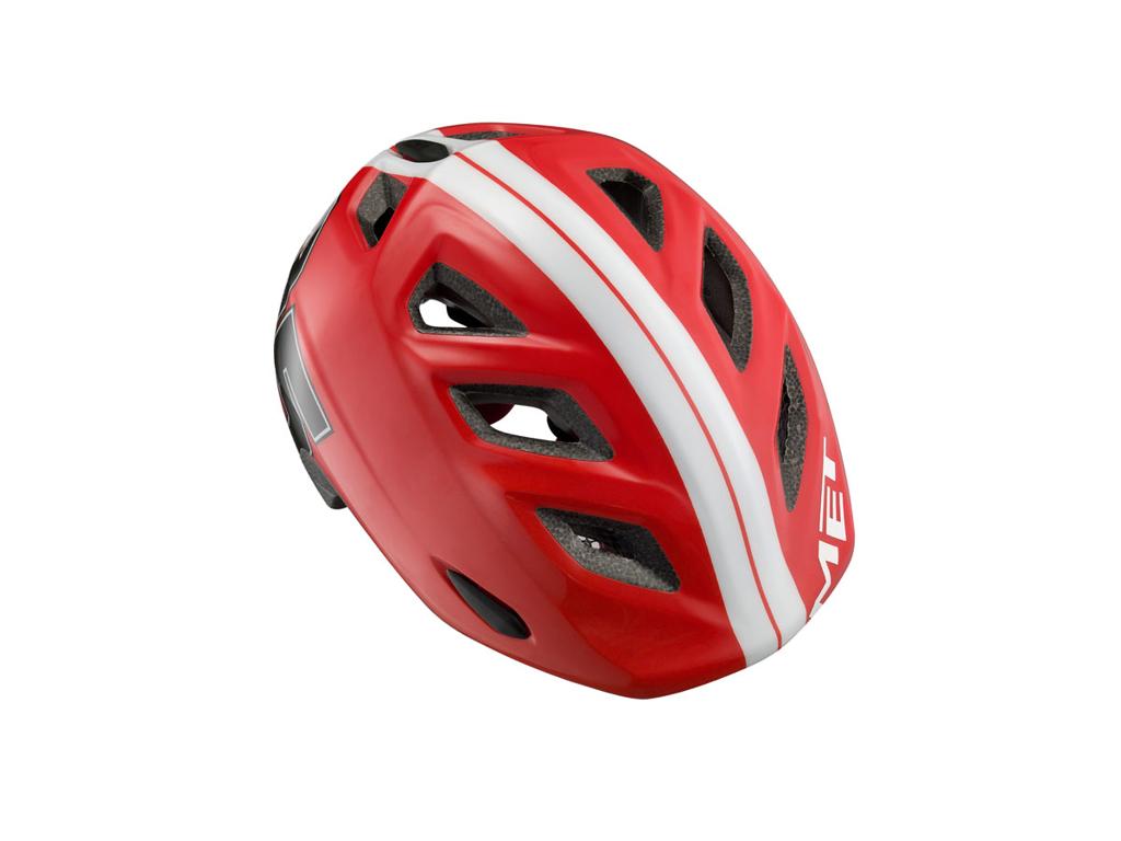 Met Elfo - Cykelhjelm - Red 85 - Str. 46-53 cm thumbnail