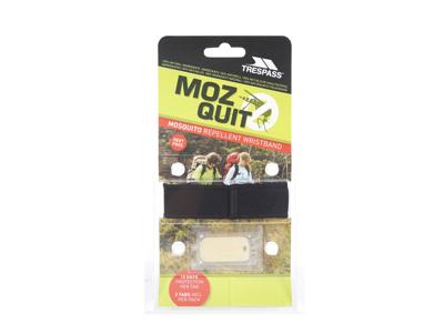 Trespass Mozquit - Myggeafvisende armbånd - Sort