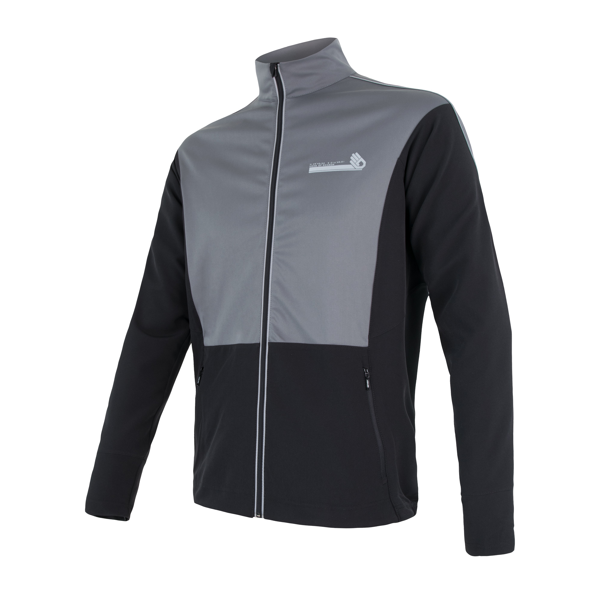 Sensor Cross - Vinter softshell - Sort | Jakker